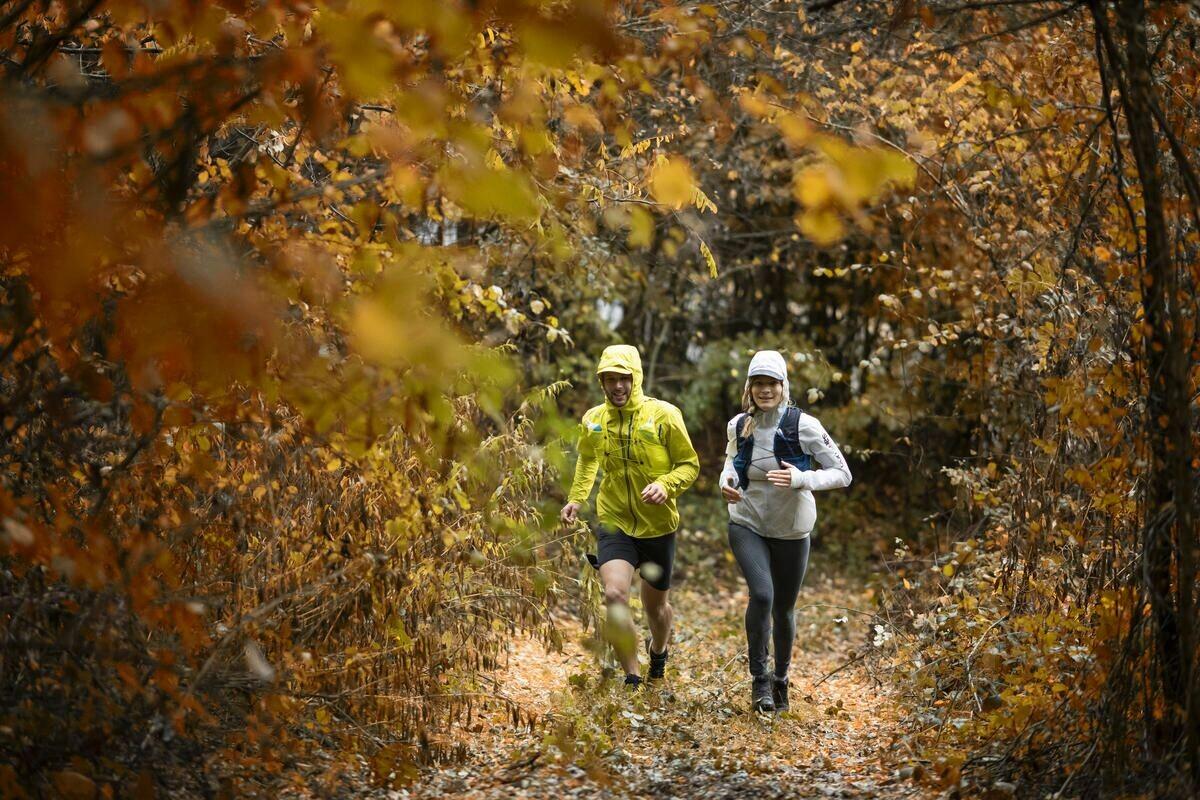 Běhání na podzim